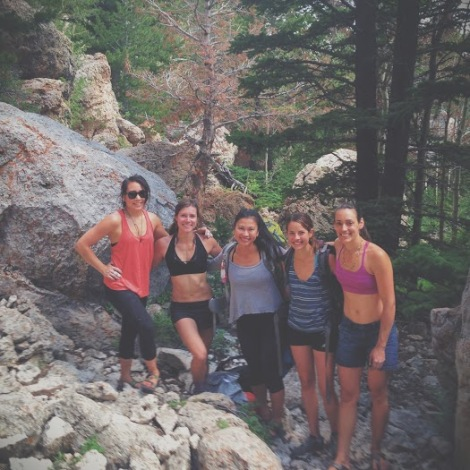 Ladies Bouldering Trip: Joe's Valley