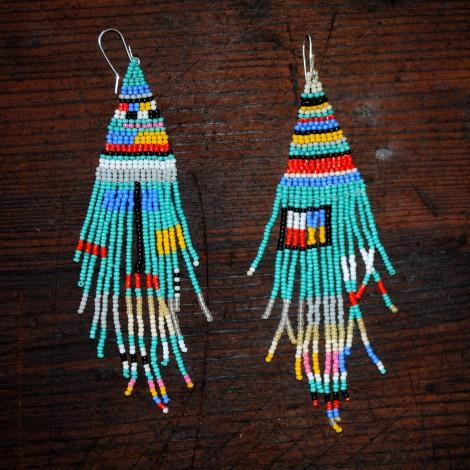 hueco earrings