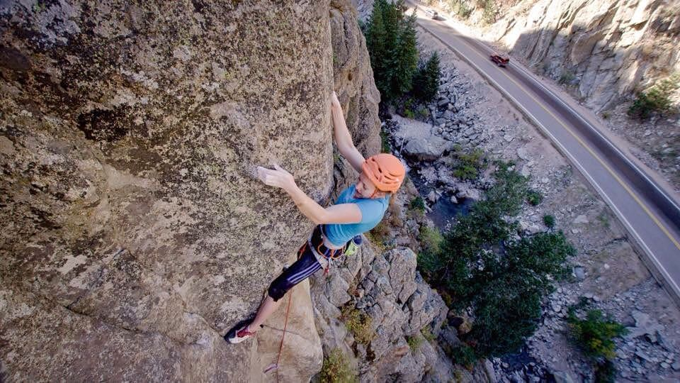 "Photos from Mad Rock Climbing Film, shot by Kyle Berkompas of SparkShop. First Ascent of ""The Spoiled Moose,"" 5.13- R. Boulder Canyon, CO."